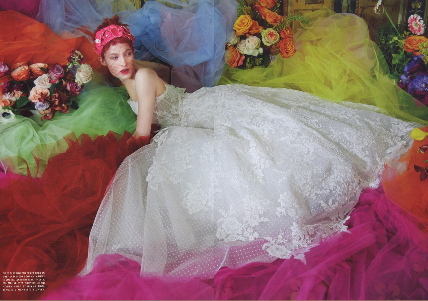 Louise Lefebure - Vogue Italia