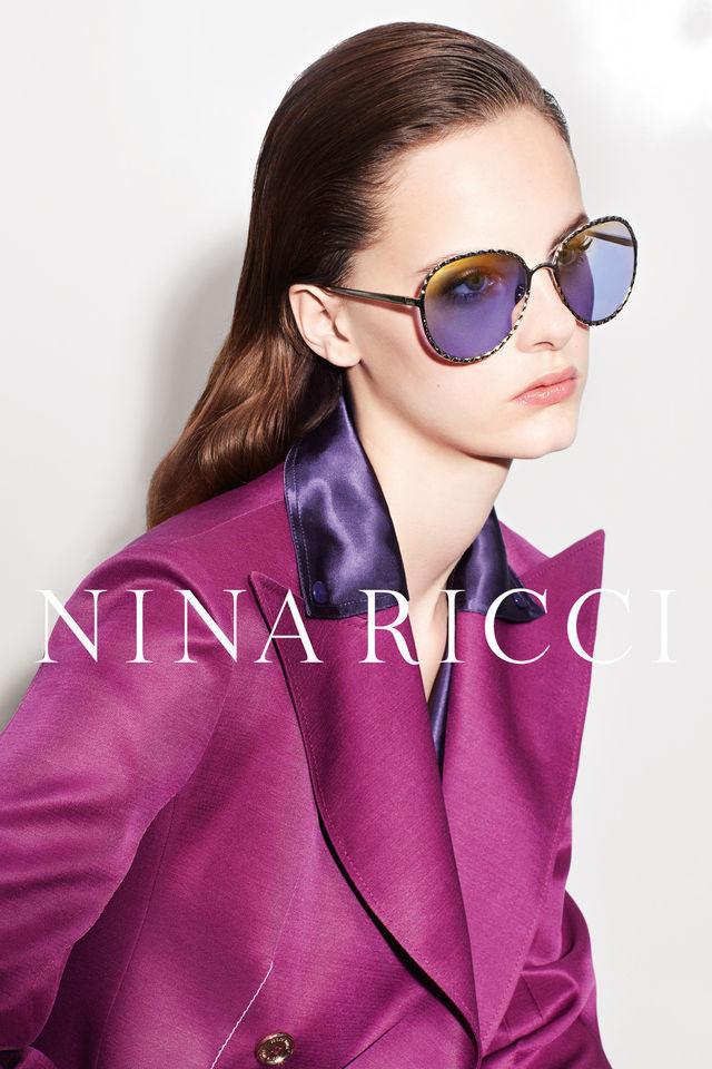 Lea Holzfuss for Nina Ricci Eyewear SS 2017 Campaign