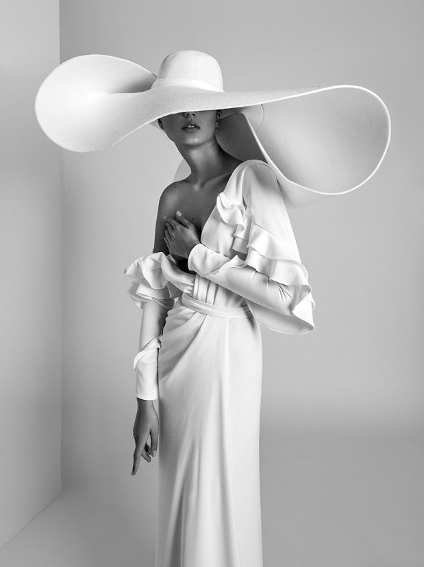 Anastasia Panasenko - Lookbook Alon Livne white