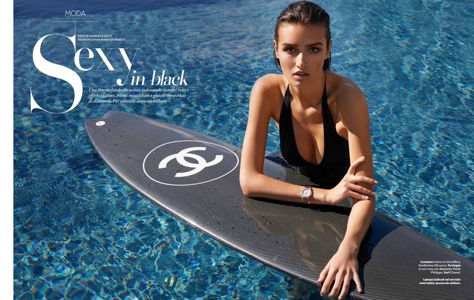 Masha D for F Style Magazine