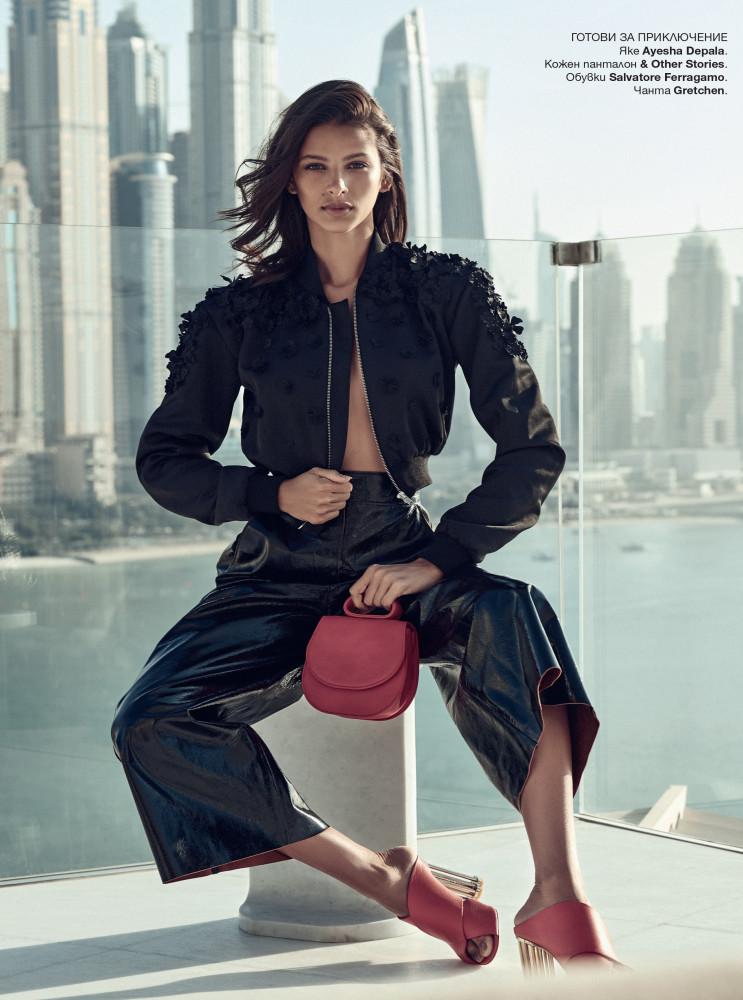 Bruna Lírio Harpers Bazaar Bulgaria May 2018