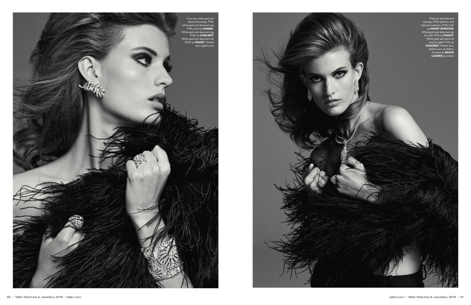 Louise Lefebure for Tatler Magazine by Luc Braquet