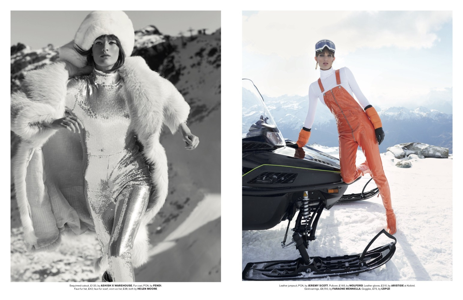 Tatler's February Issue Featuring Louise Lefebure