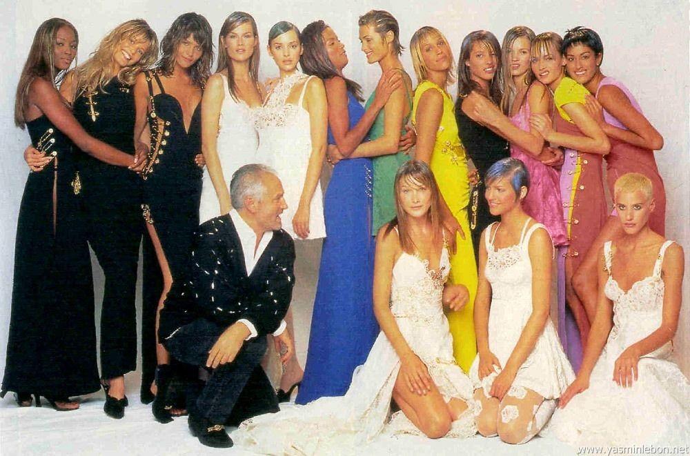 4b50b46397a4 Versace Versace Versace! | Mode Models International