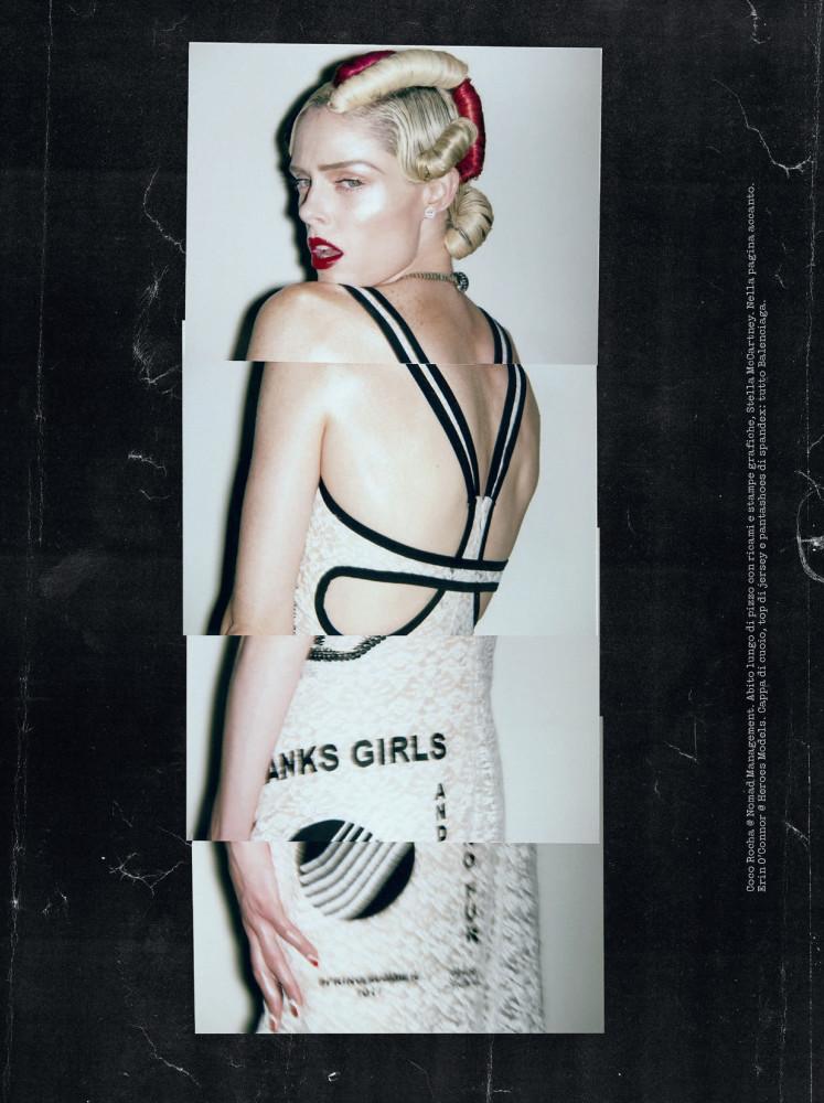 Coco Rocha for Vogue Italia