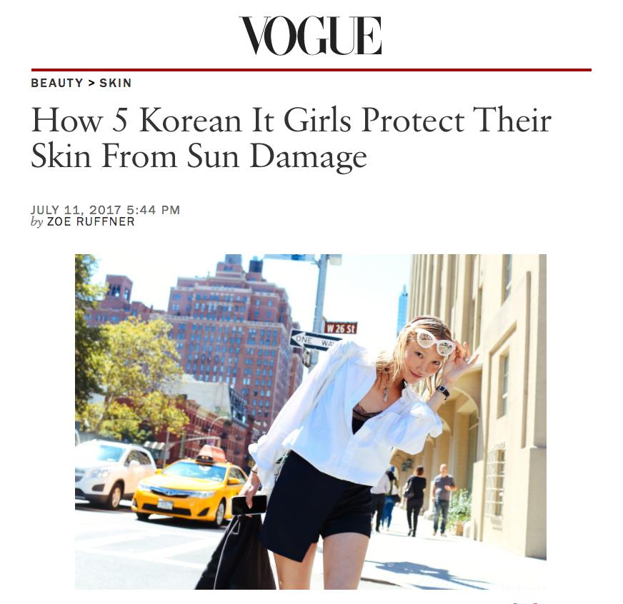 Beauty Feature: Soo Joo & Hoyeon Beauty x Vogue.com