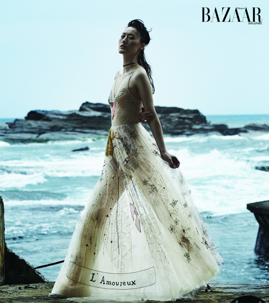 Hye Seung for Bazaar Singapore