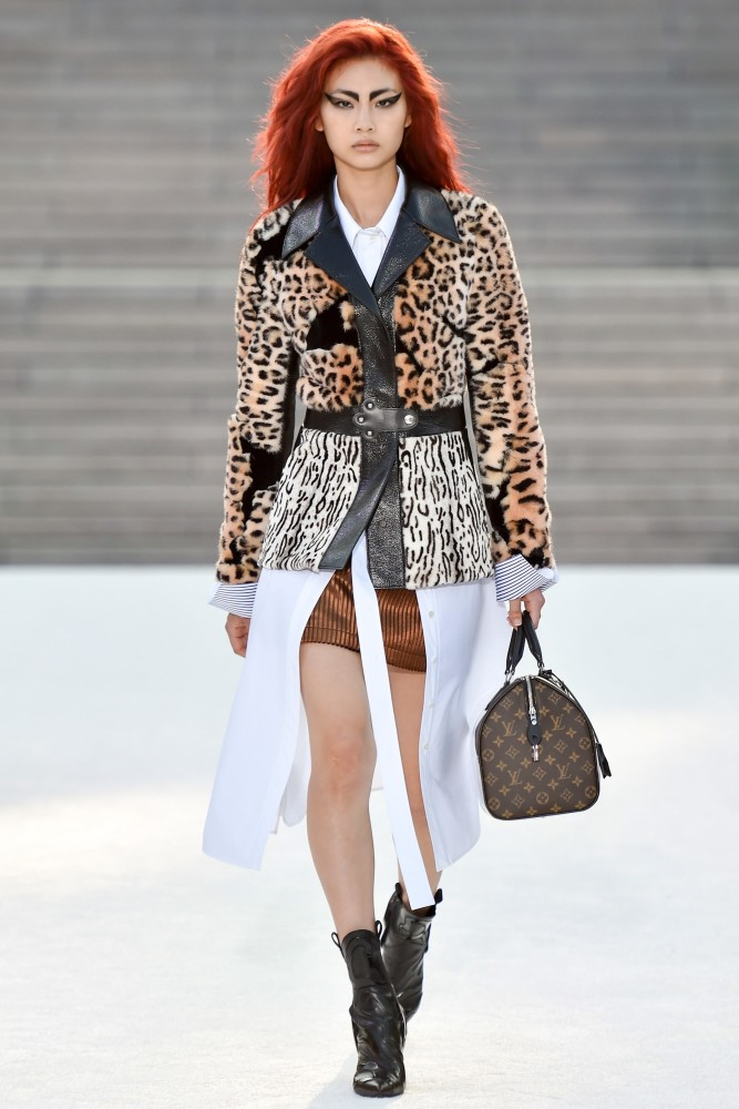 Runway Exclusive: Hoyeon Jung x Louis Vuitton