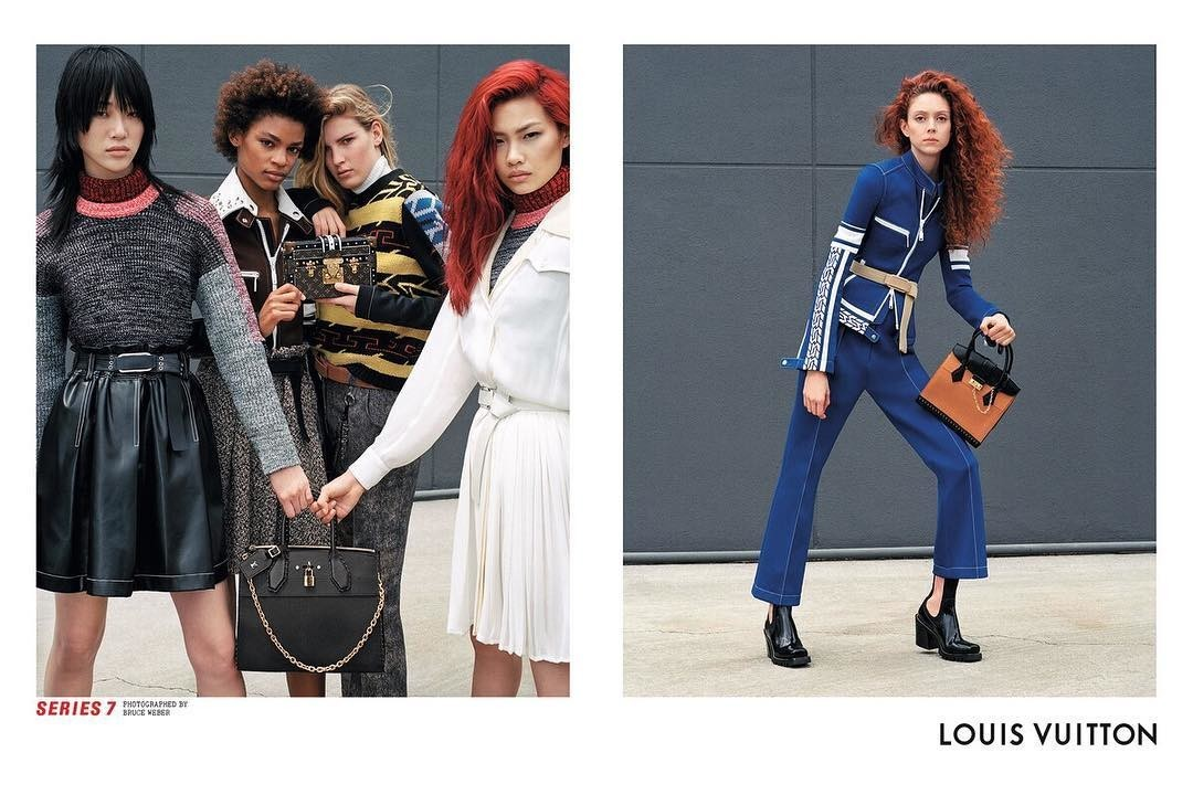 New Campaign: Hoyeon Jung x Louis Vuitton