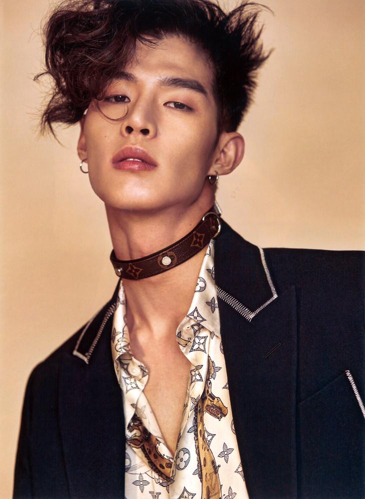 Tae Eun for L'Officiel Hommes Korea