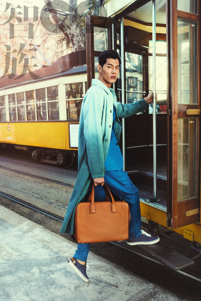 Tae Eun for GQ China