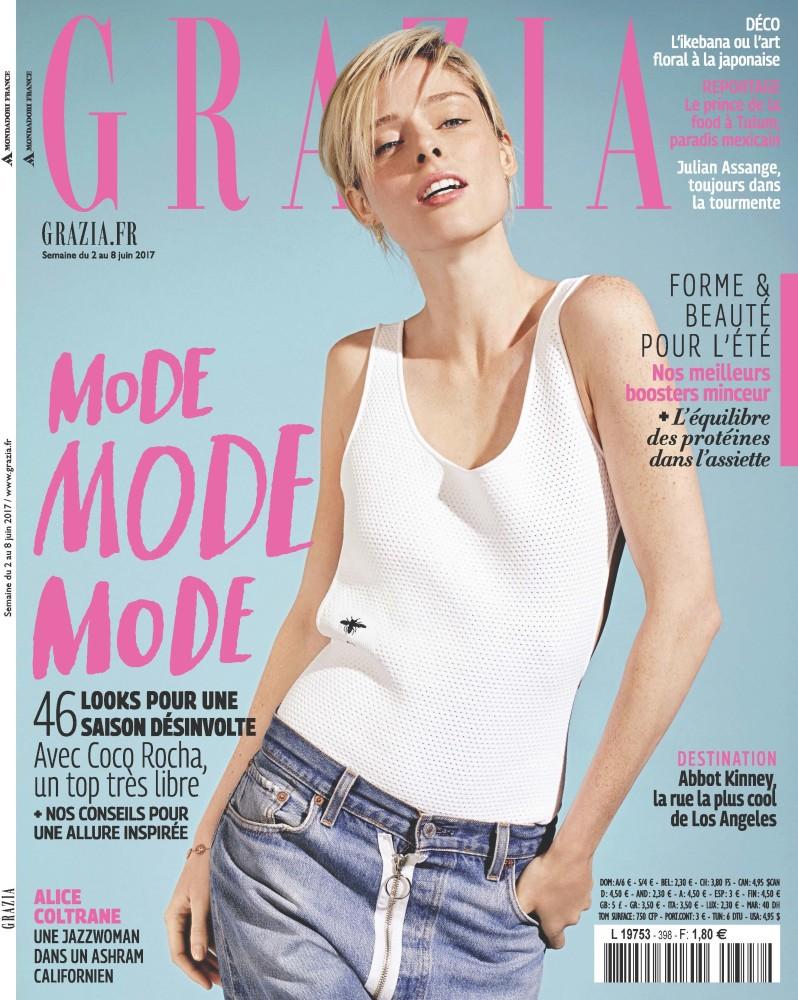 New Cover: Coco Rocha x Grazia France