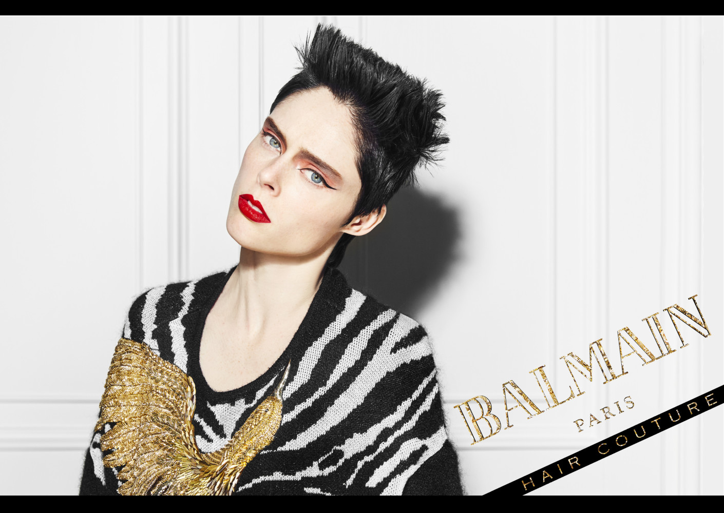 New Campaign: Coco Rocha x Balmain Hair Couture