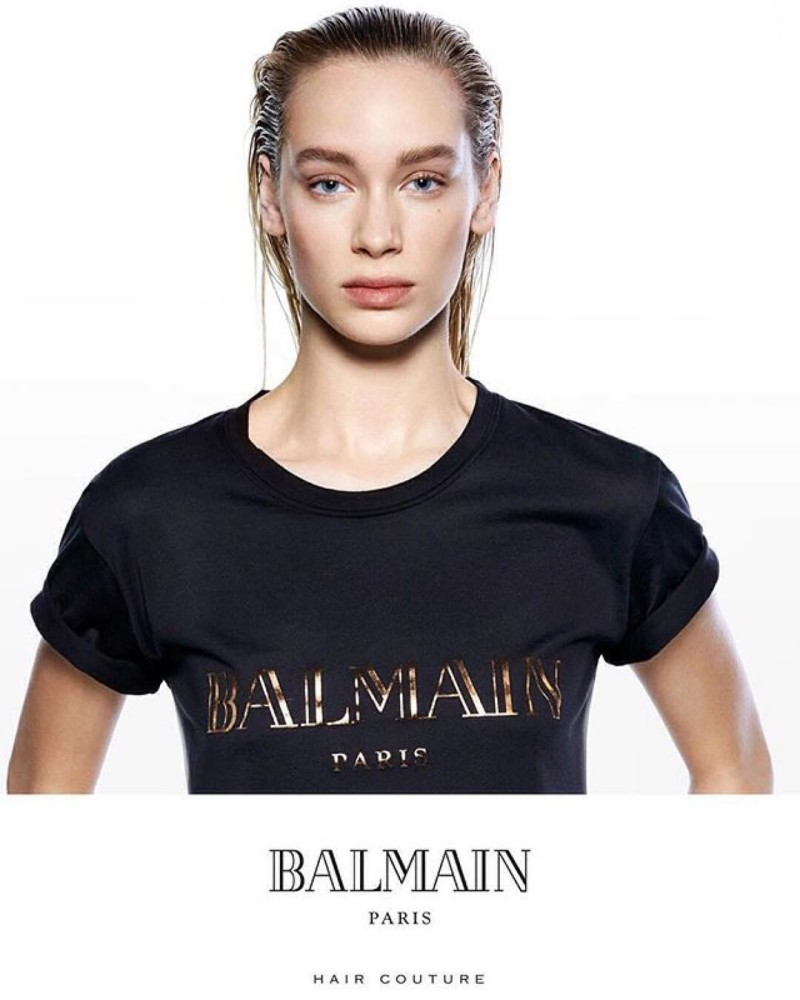 New Campaign: Brianna Mellon x Balmain Hair Couture