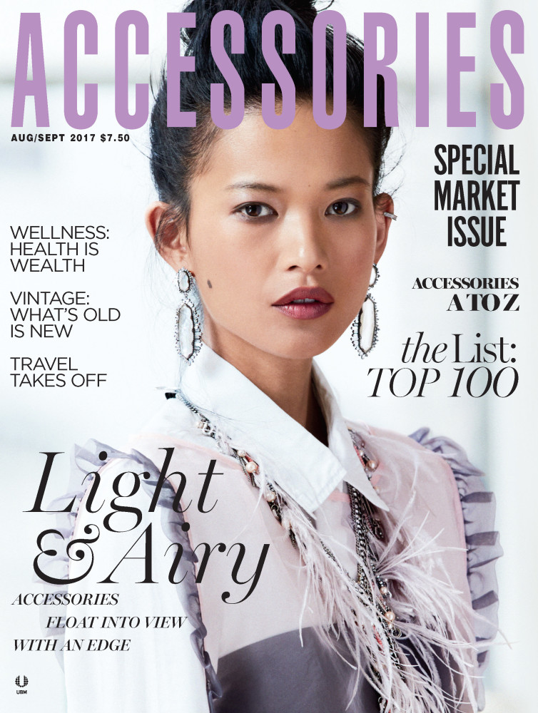 New Cover: Karmay Ngai x Accessories Magazine
