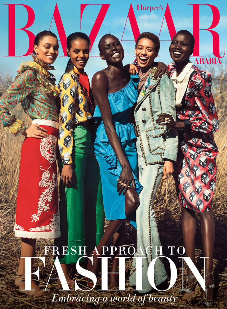 New Cover: Jourdana Phillips x Bazaar Arabia