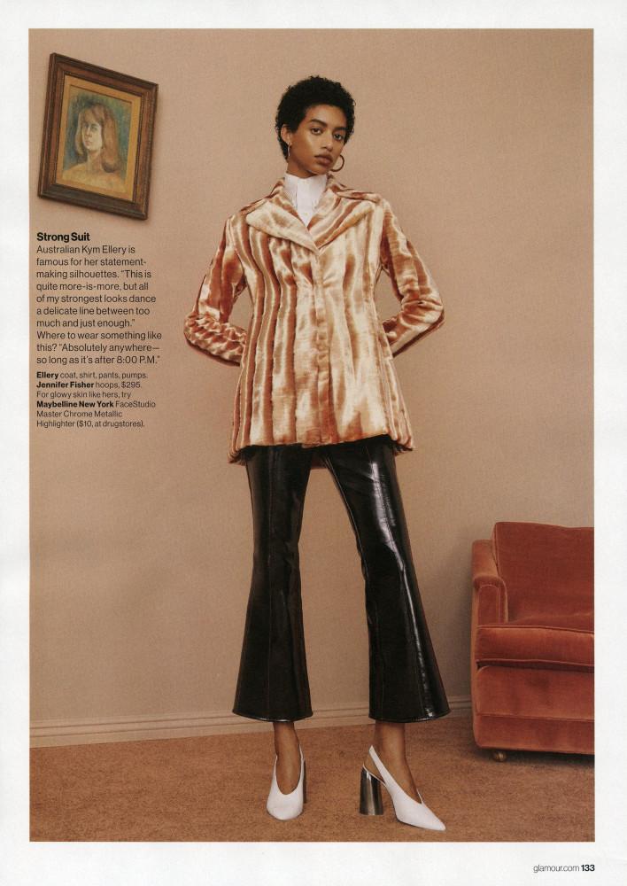 Jourdana Phillips for Glamour