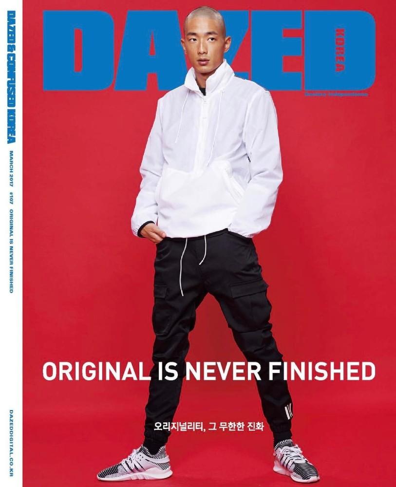 New Cover Alert: SungJin Park x Dazed Korea