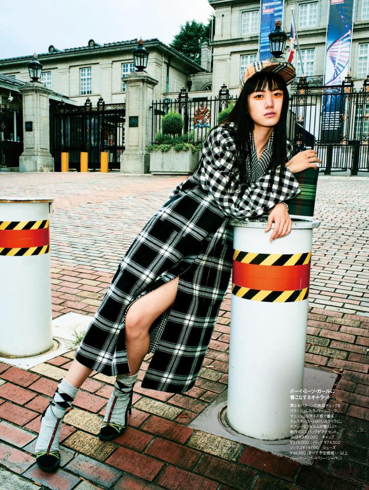 Kiko Arai for ELLE Japan