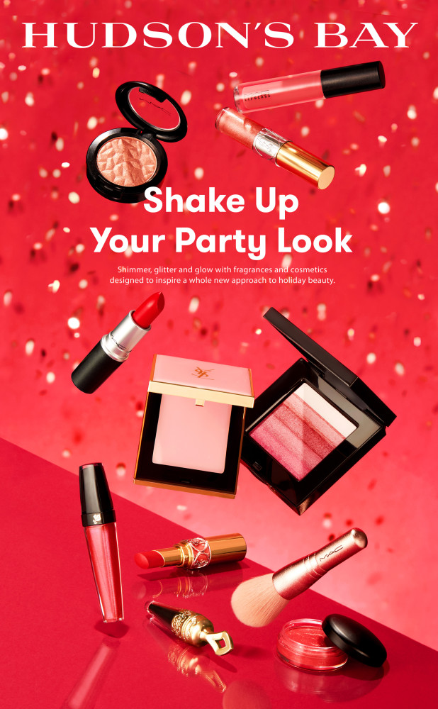 Hudson's Bay Shake Up Your Party Look