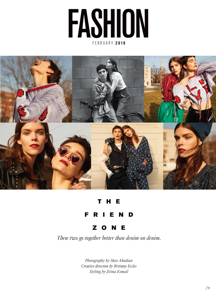 Fashion February 2018 The Friend Zone