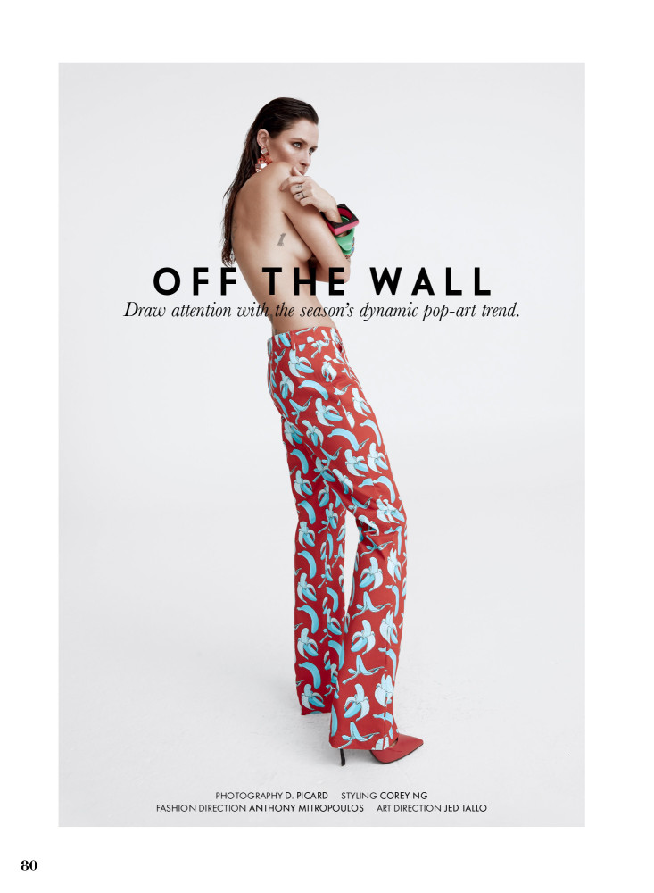 Elle Canada March 2018 Off The Wall