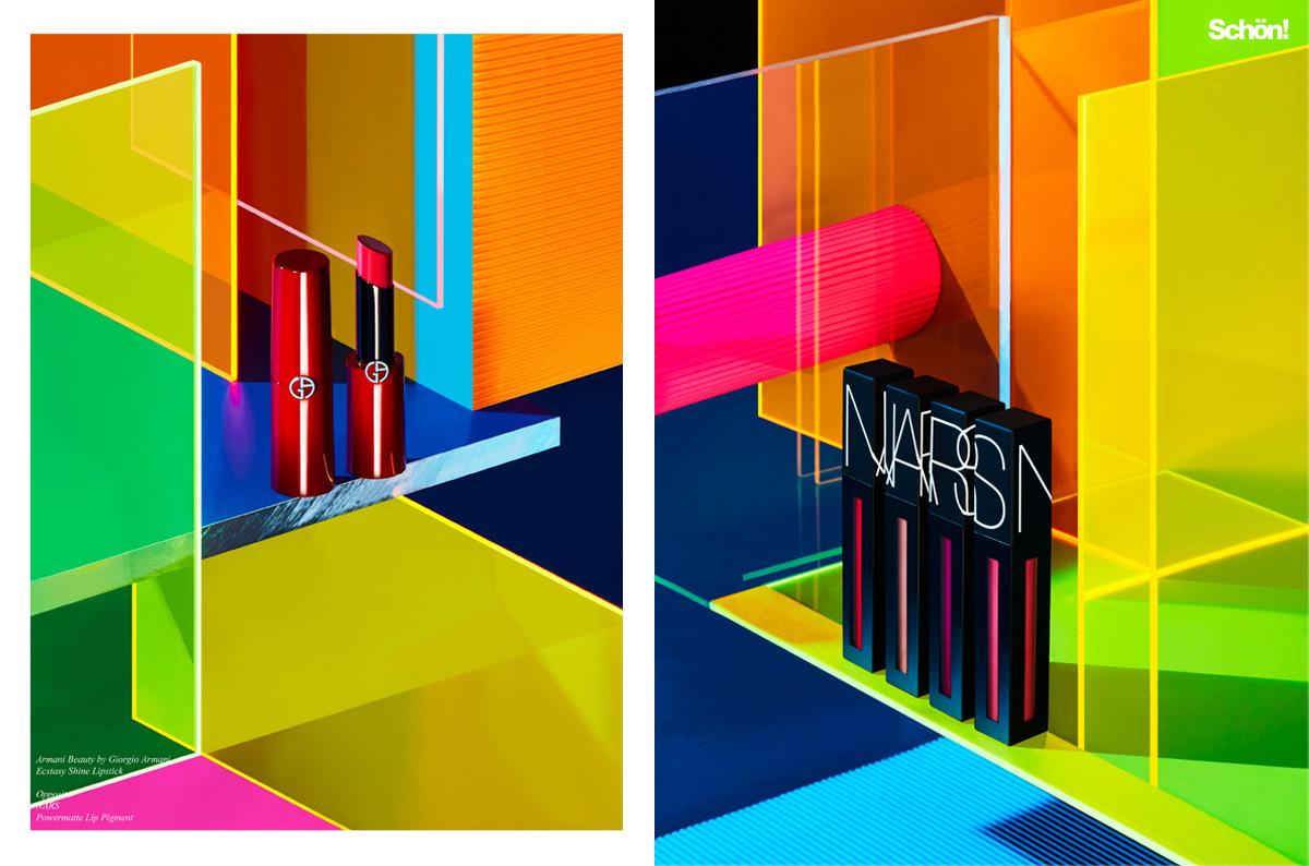 Schon Magazine Neon Glow