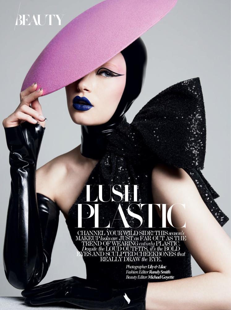 Dress to Kill Spring 2018 Lush Plastic