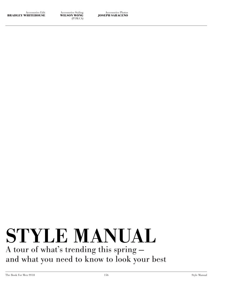 Sharp Spring 2018 Style Manual