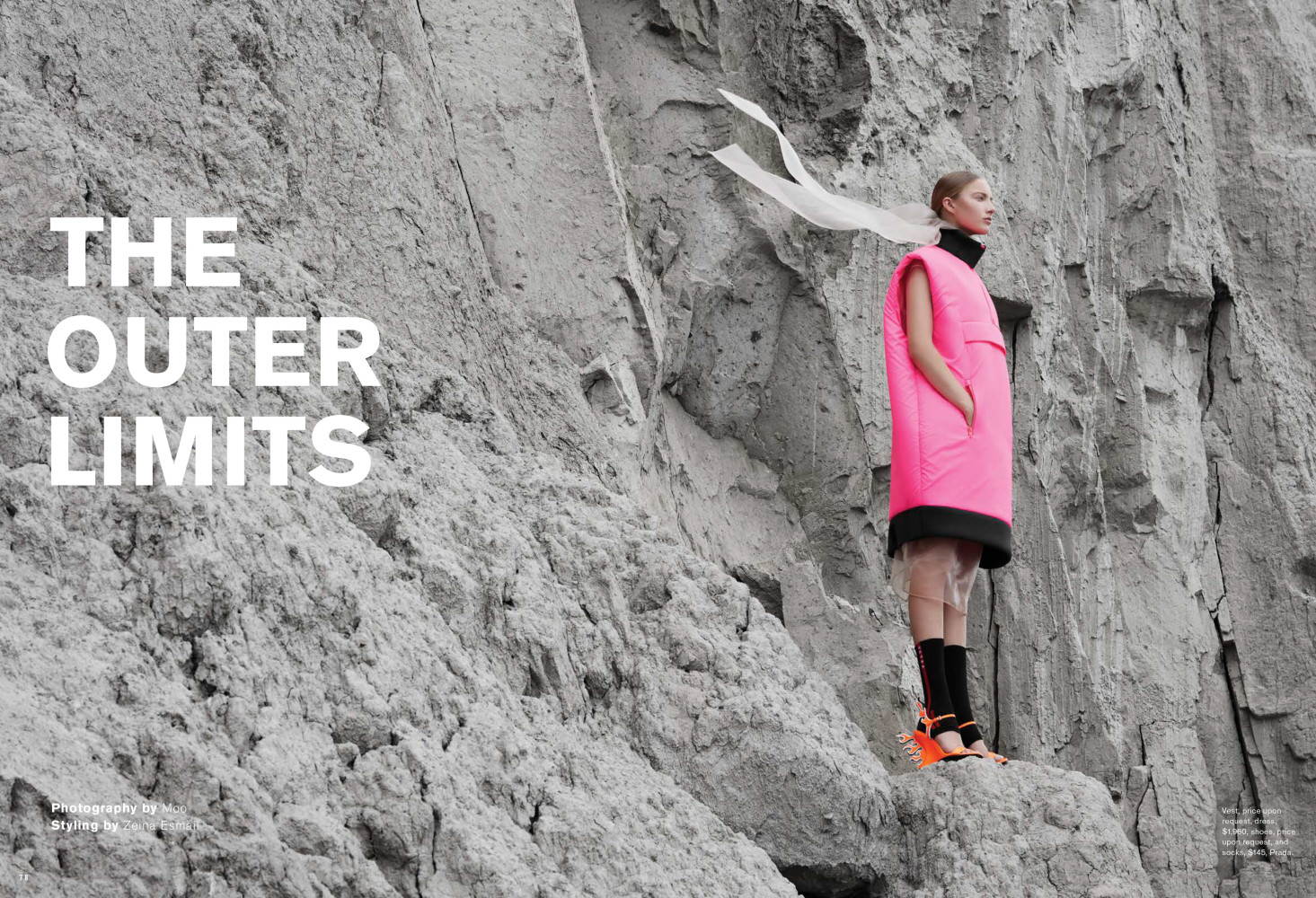THE OUTER LIMITS | FASHION MAGAZINE