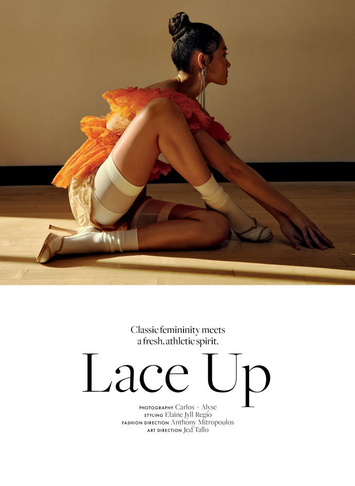 ELLE CANADA | LACE UP