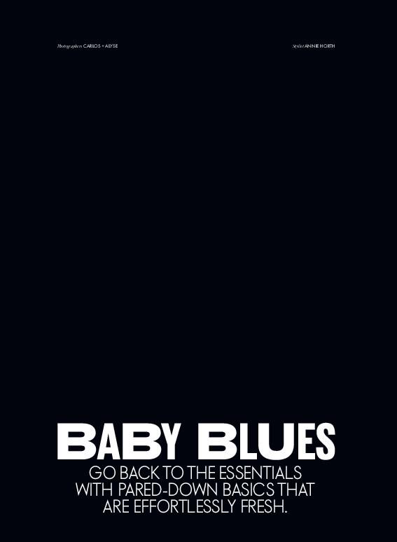 BABY BLUES | ELLE CANADA