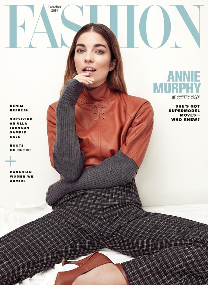ANNIE MURPHY | FASHION MAGAZINE