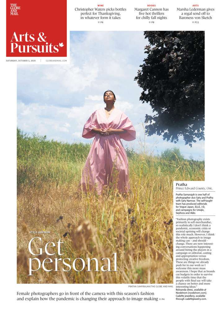 A NEW SENSE OF SELF | THE GLOBE AND MAIL