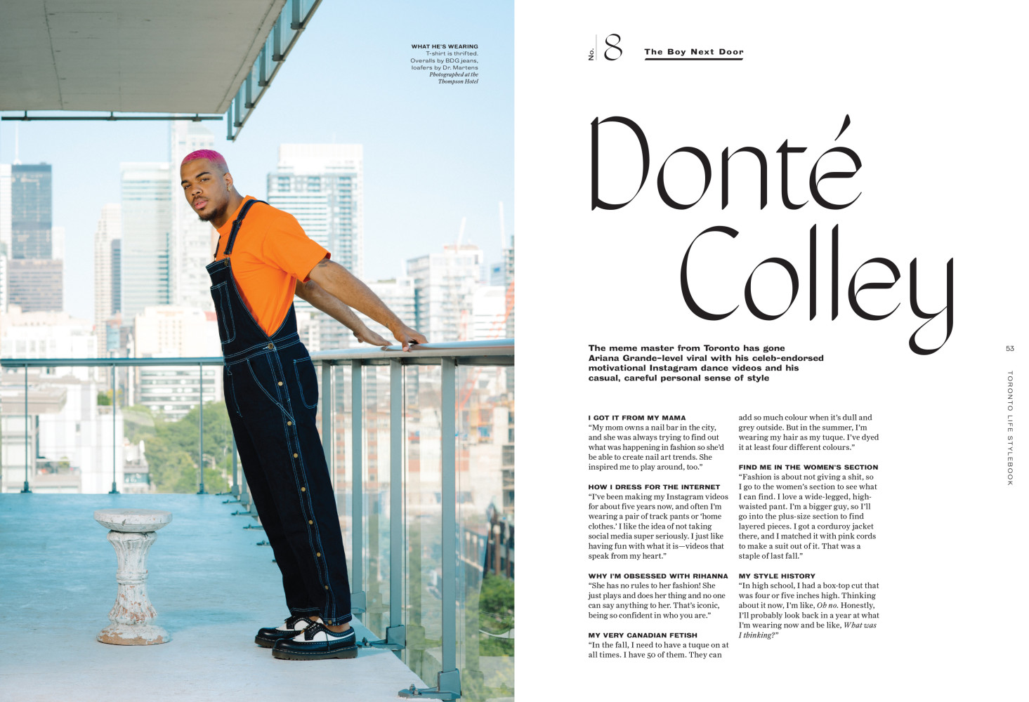 Donté Colley | Toronto Life
