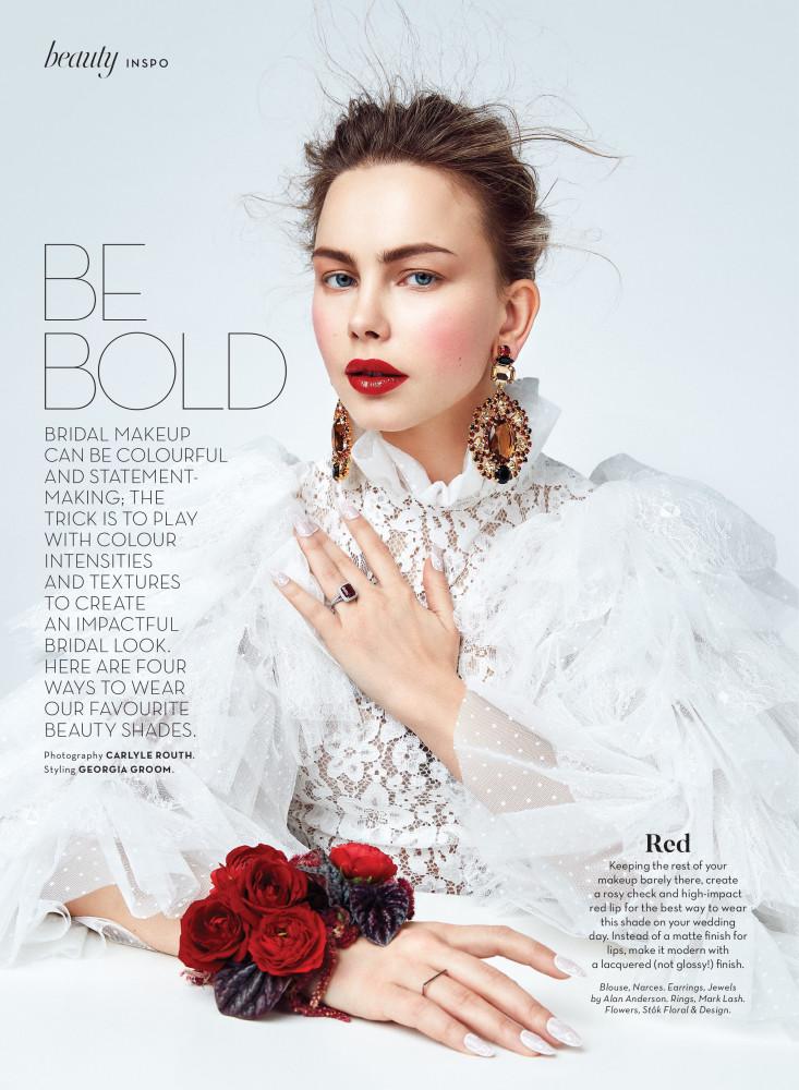 WEDDING BELLS | BE BOLD
