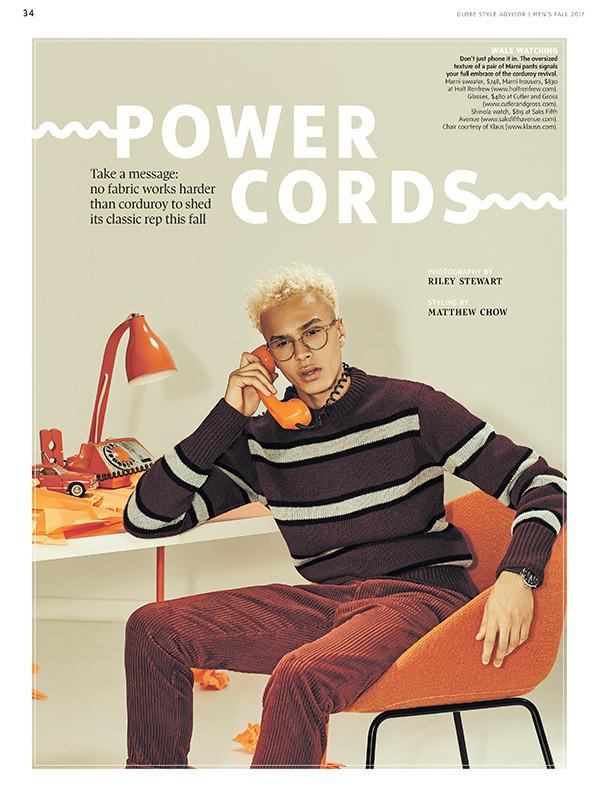 Globe Style Fall 2017 Power Cords