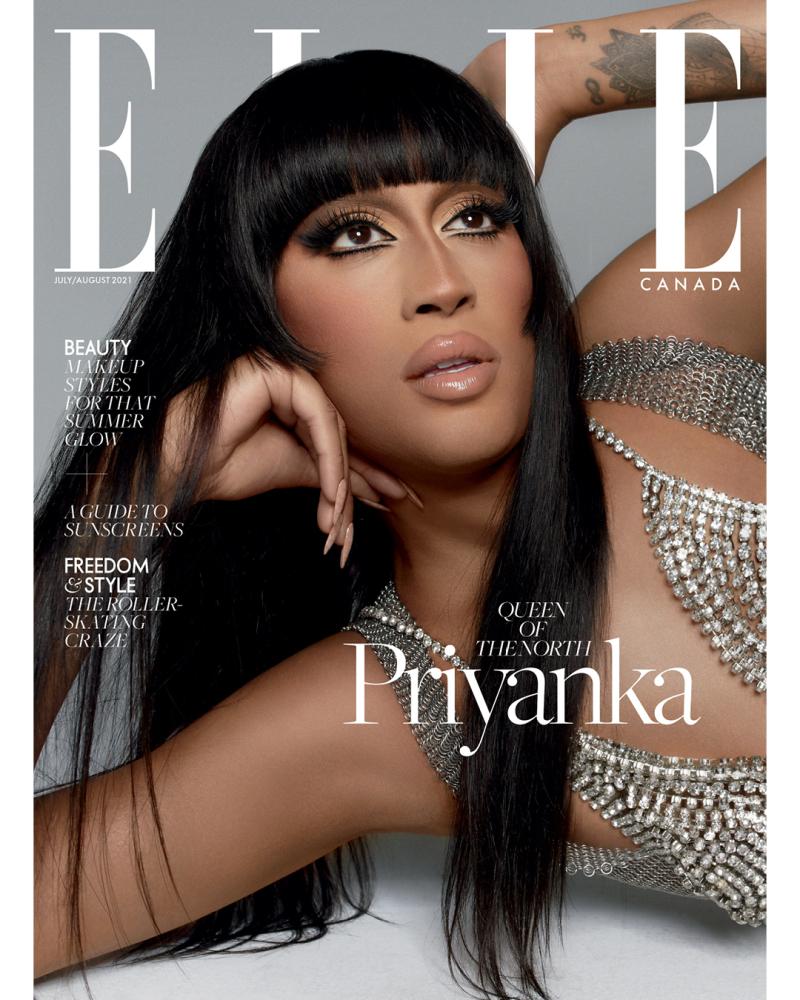 Priyanka for Elle Canada