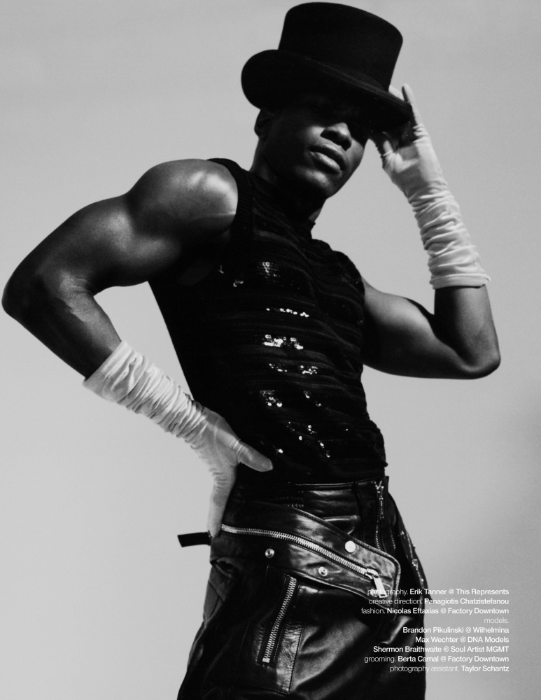 Schon #40 photo by Erik Tanner styling Nicolas Eftaxias