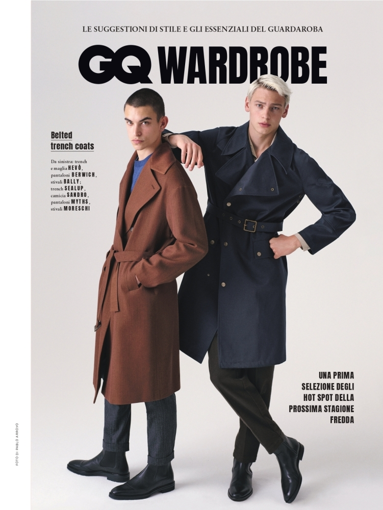 GQ ITALY by PABLO ARROYO