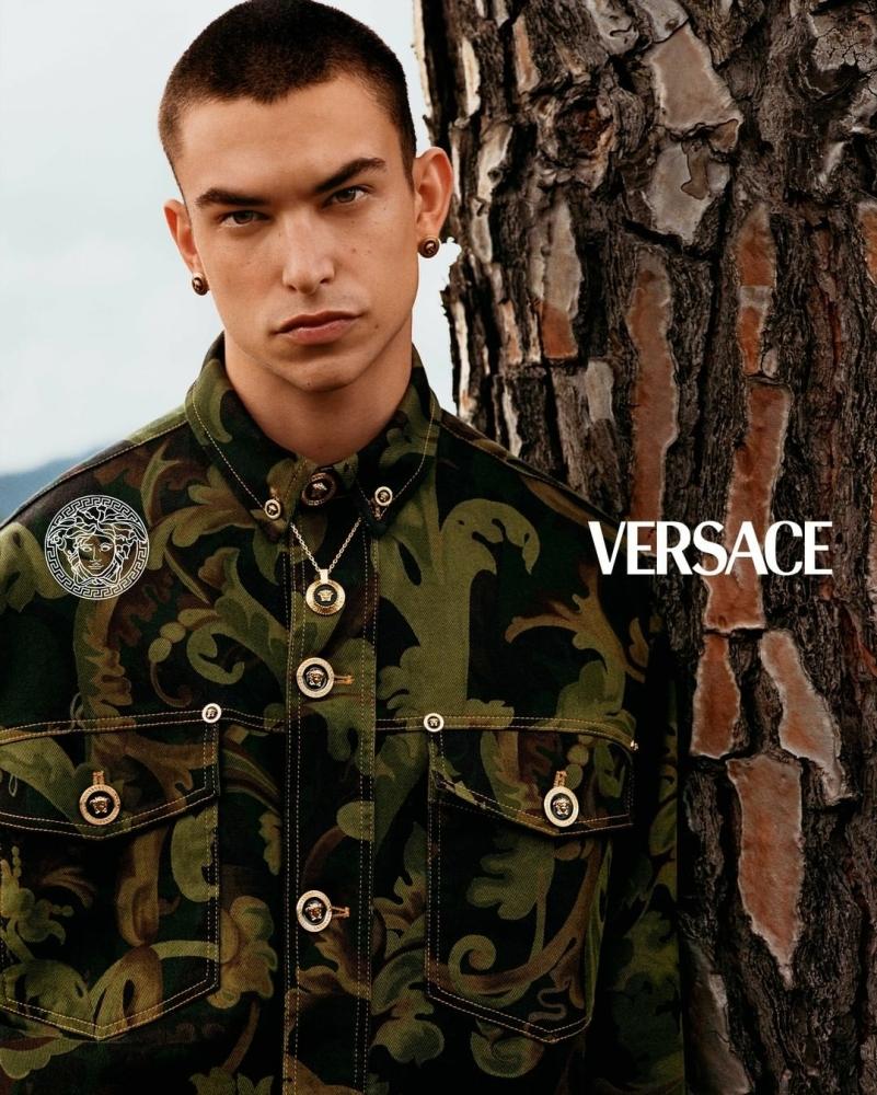 Versace Pre-Fall 21 campaign