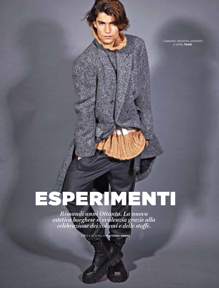MODA Magazine with images by Matthias Vriens