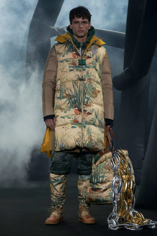 Our gorgeous Simon Nessman walks for Moncler 1 JW Anderson F/W20 Runway in Milan