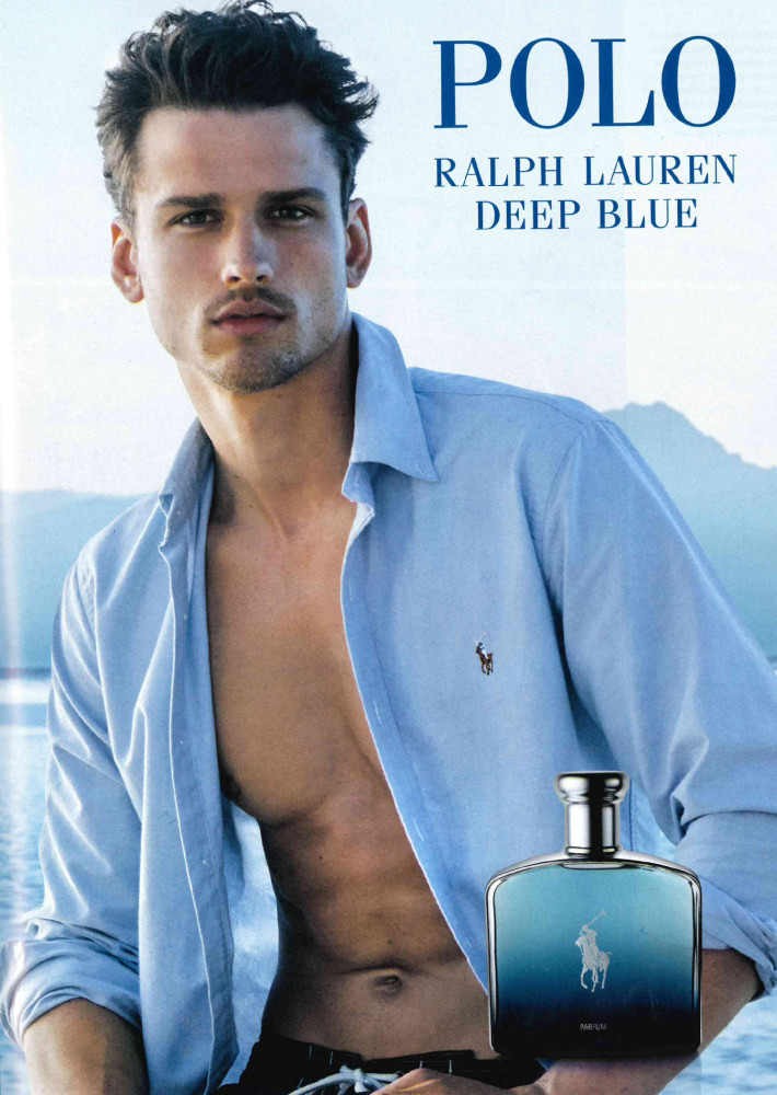 Simon Nessman for Polo R.L. Deep Blue Fragrance Captured by Josh Olins