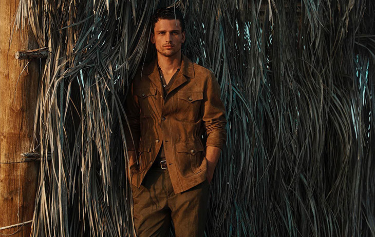 Super Model Simon Nessman for Massimo Dutti Spring/Summer 2020 Campaign