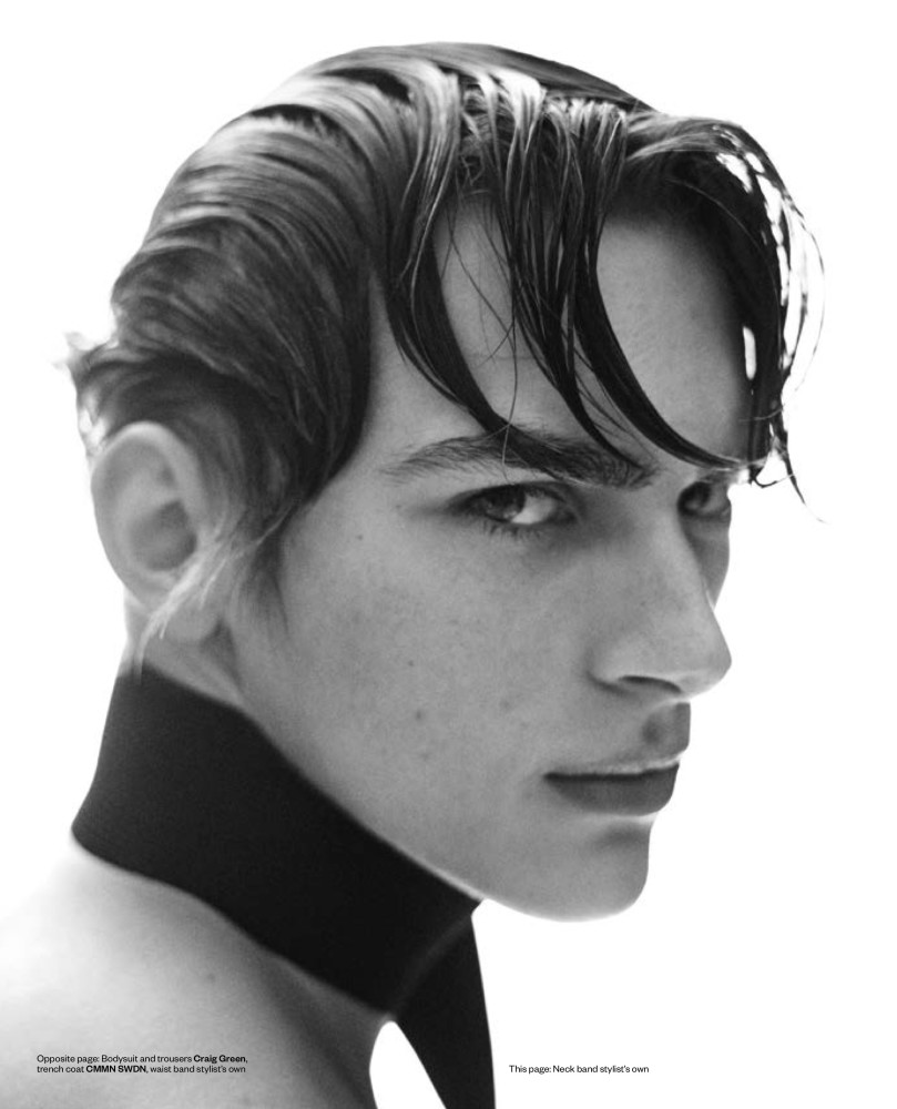 Dominik Sadoch for Man About Town UK Magazine by Giampaolo Sgura
