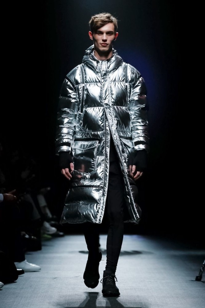 Kit Butler walks for Spyder F/W'19 Collection in Milan