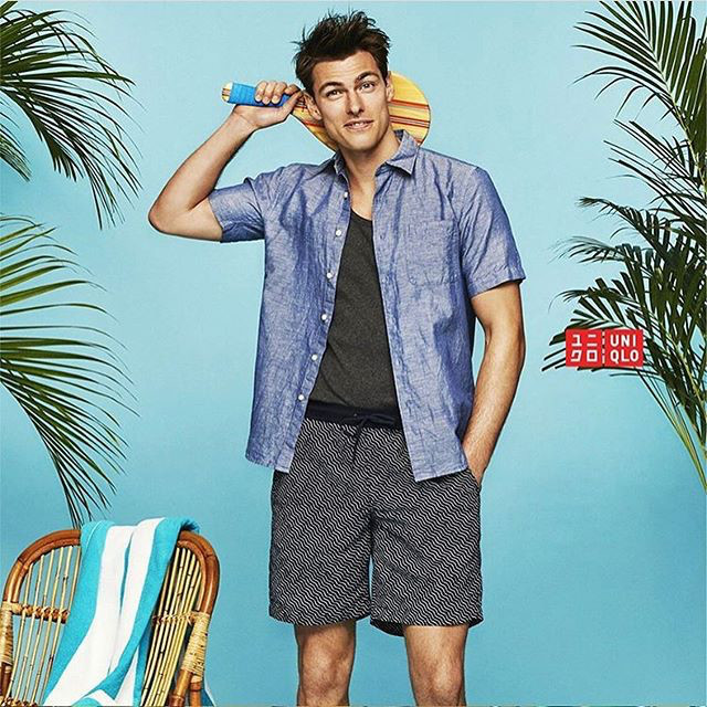 Our Handsome Filip Wolfe for Uniqlo SS19 Campaign