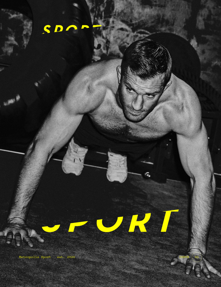 #UFC Luke Rockhold takes the cover for Metropolis Sports No.1 Issue