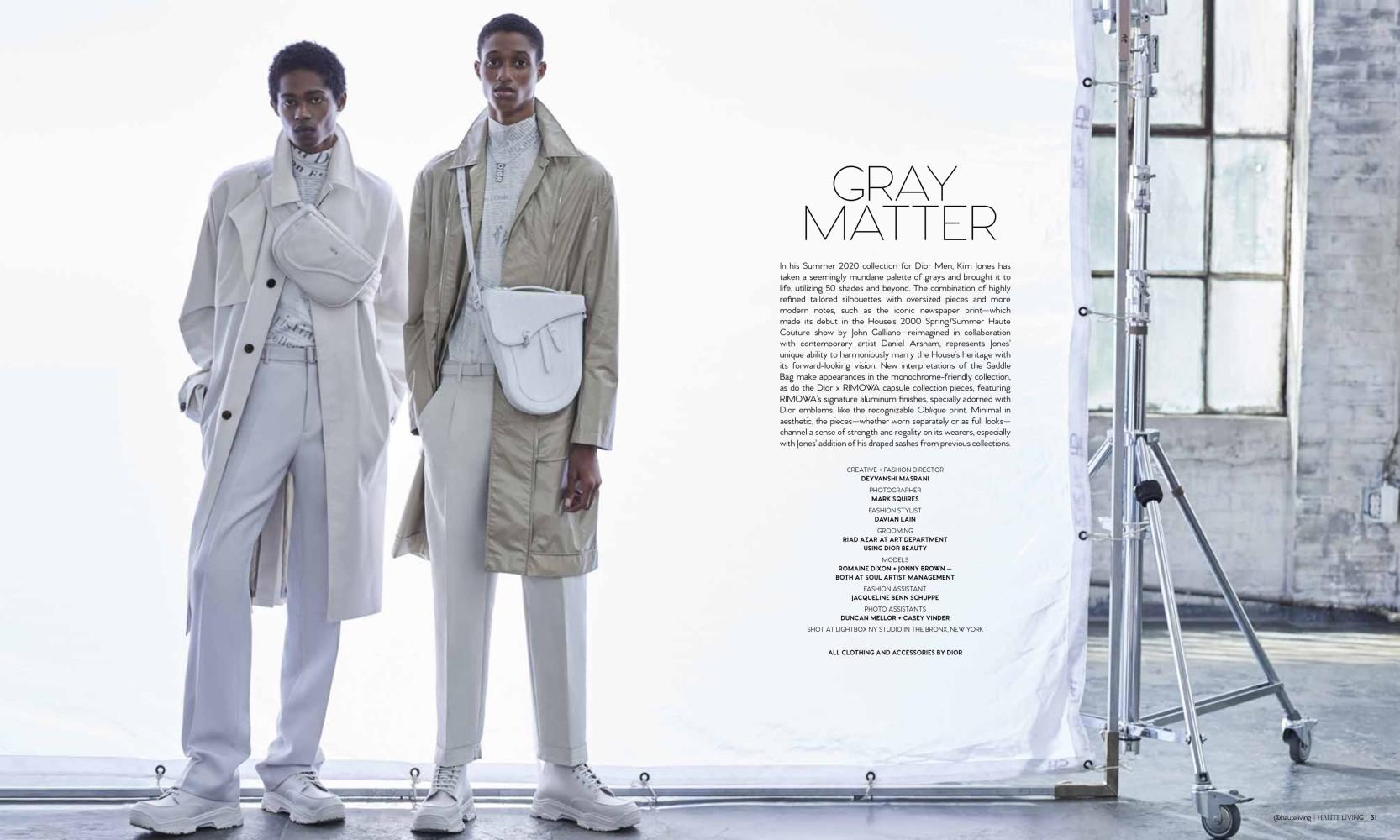 Our Stars Romaine Dixon & Jonny Brown for Haute Living Magazine